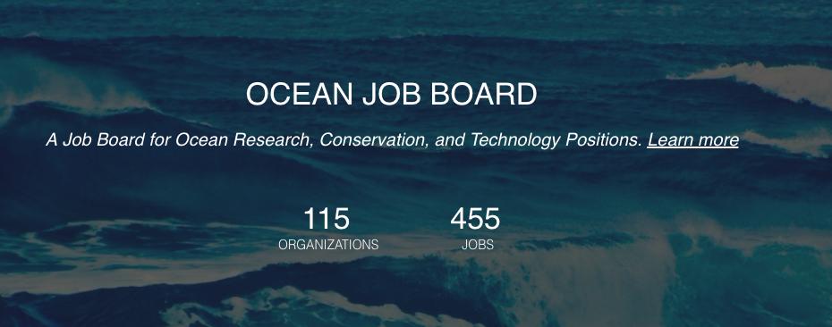 National Oceanography Centre Schmidt Marine Job Board