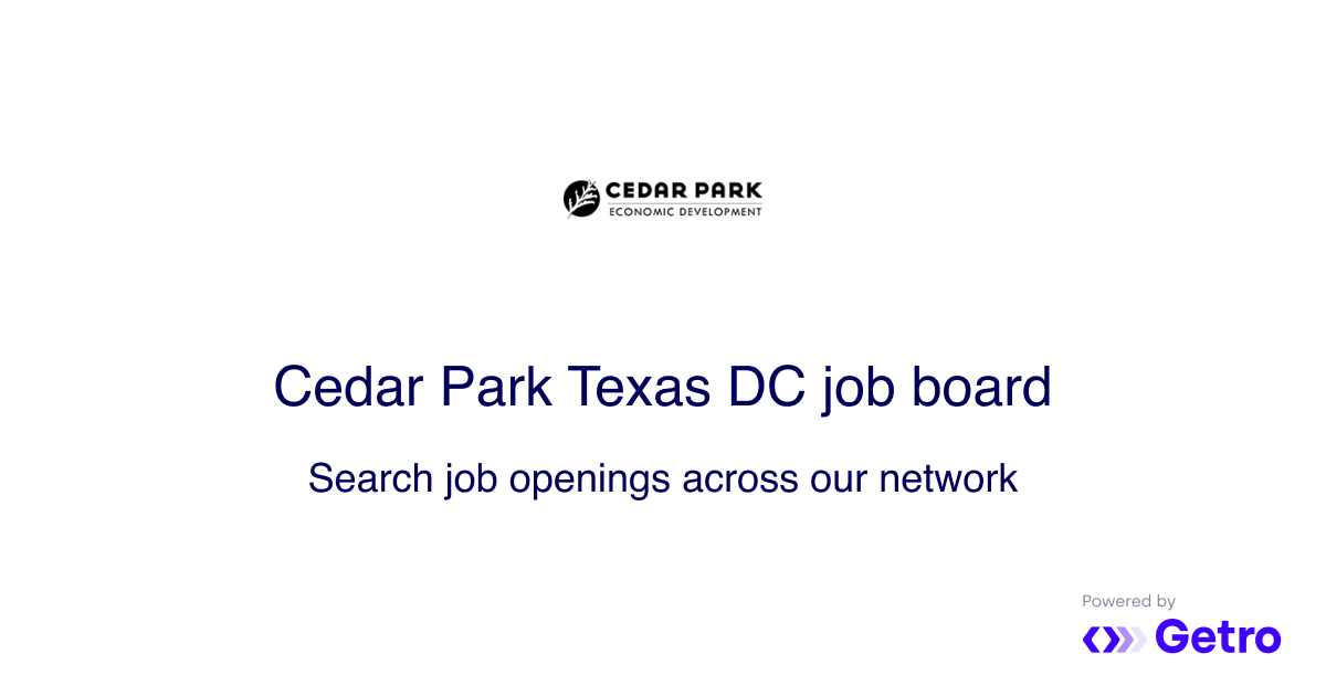 James Avery | Cedar Park Texas EDC Job Board