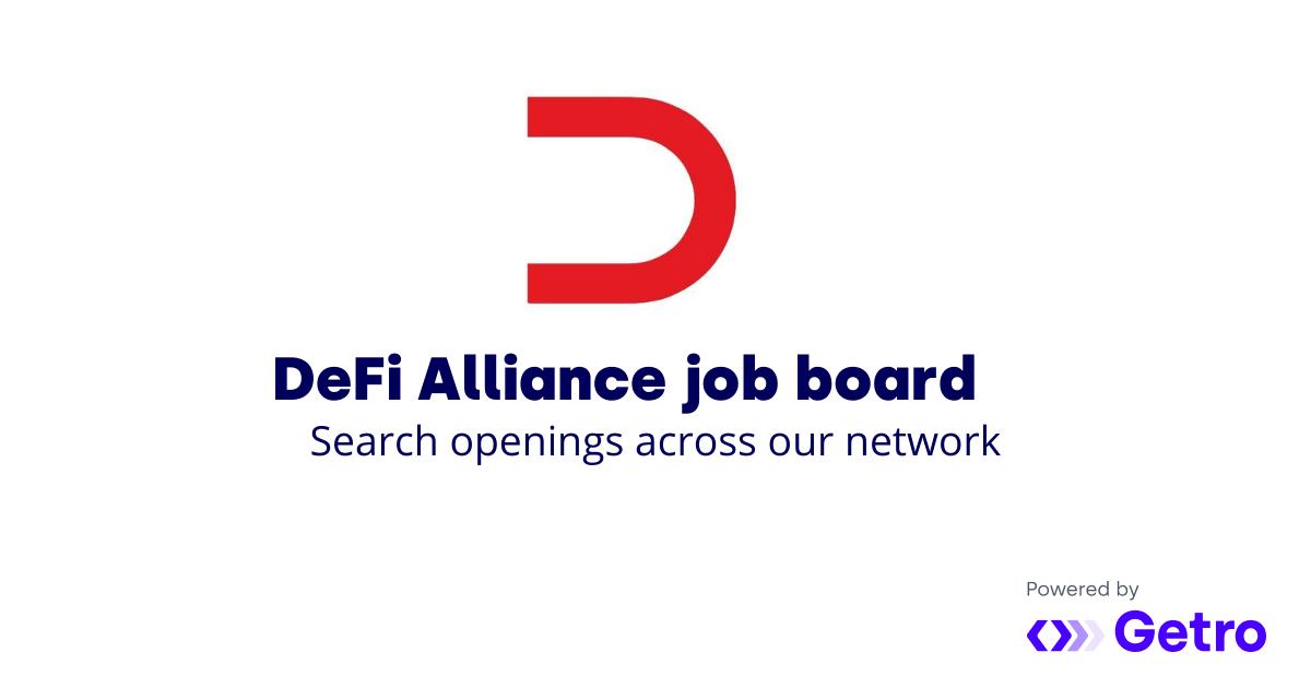 DeFi Alliance Job Board