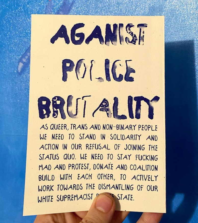 Stonewall was a Riot: On Police Brutality thumbnail 2