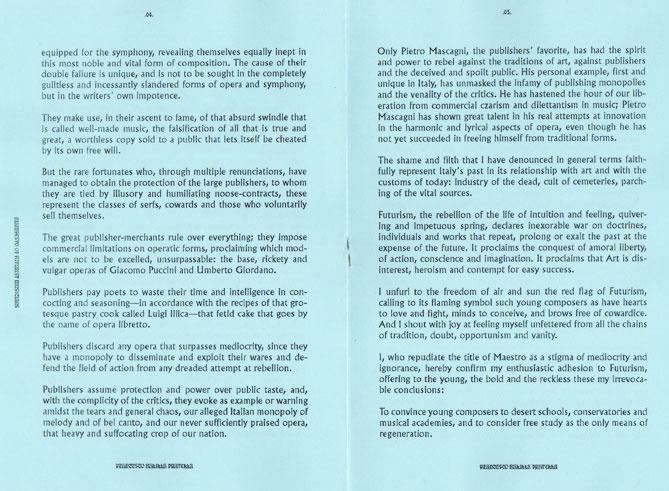 Manifesto of Futurist Musicians  thumbnail 2