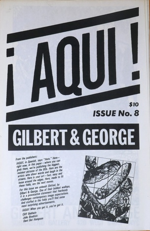 Aqui #8 Gilbert & George