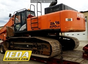 Used 2015 Hitachi ZX470 For Sale