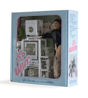 Wim Delvoye Posable Action Figure (Later Version with Pig)