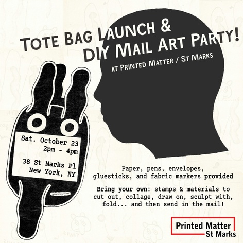 Tote Bag Launch and DIY Mail Art Party!