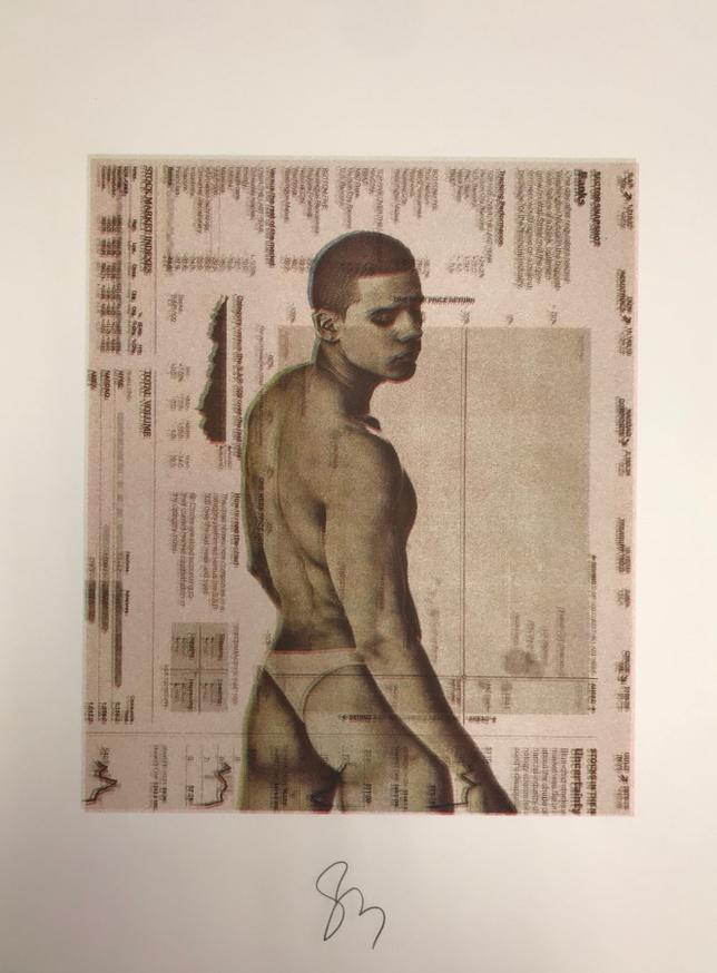Untitled [Stock Boyz Remix Print 55]