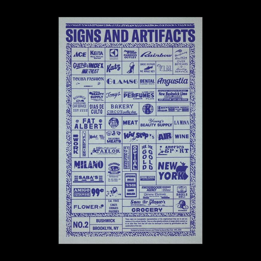 Signs And Artifacts - Bushwick, NY thumbnail 3