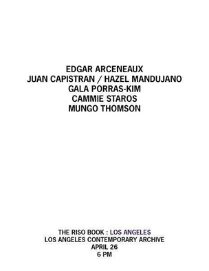 The Riso Book : Los Angeles