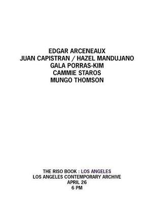 The Riso Book : Los Angeles