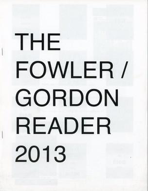 The Fowler / Gordon Reader 2013