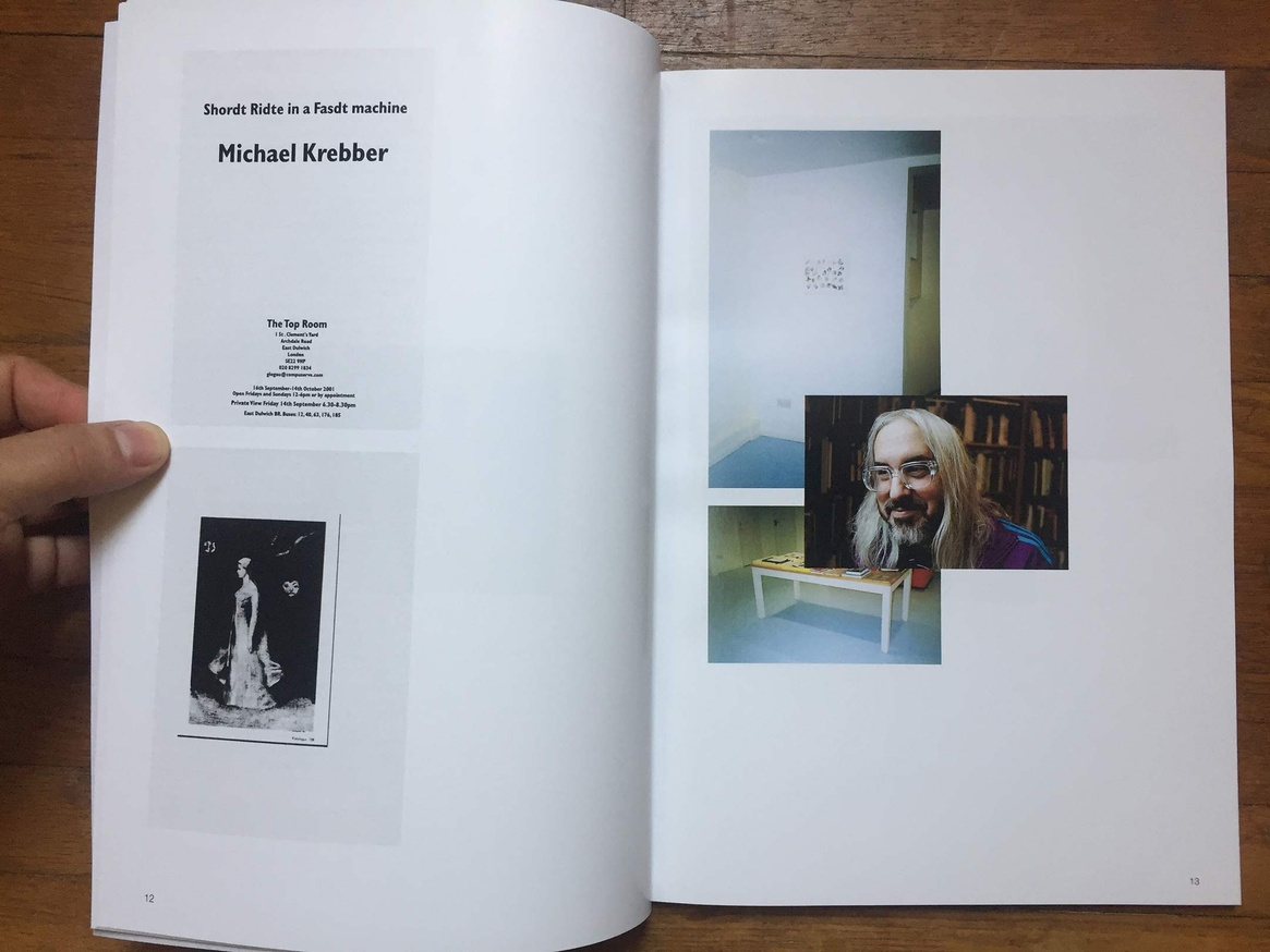 Altered Secession Catalogue - Michael Krebber (J Mascis) thumbnail 2