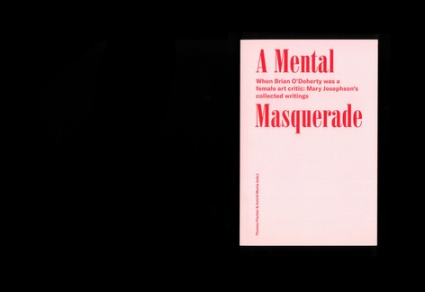 A Mental Masquerade: When Brian O'Doherty was a female Art critic