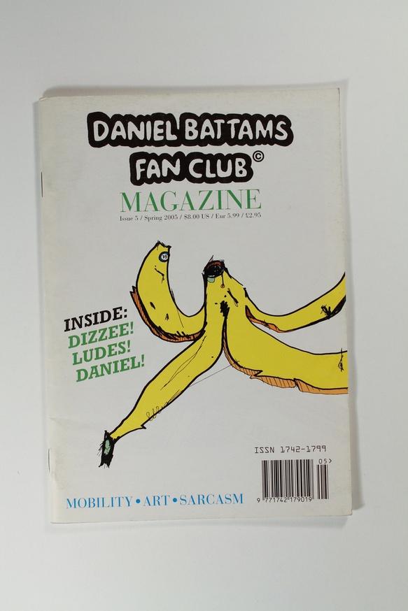 Daniel Battams Fan Club Magazine thumbnail 3