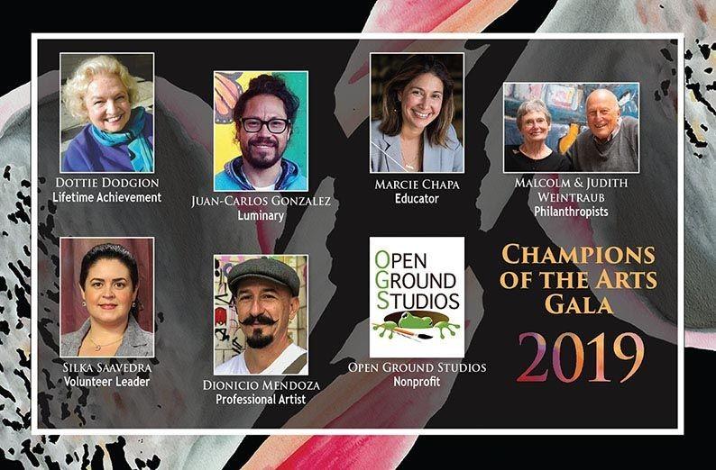 CAHSS Celebrates 2019 Champions of the Arts