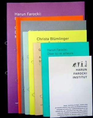 Harun Farocki: Set of 8 Pamphlets