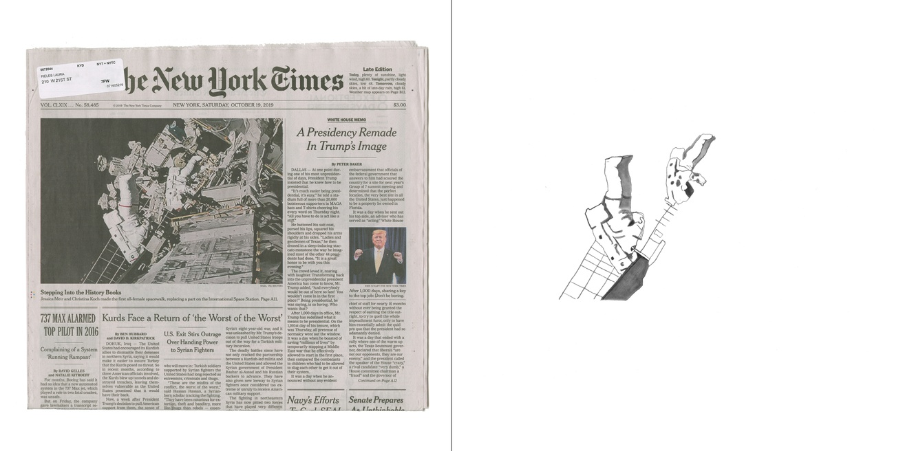 Front Pages with Pictures of Women Walking and Running: The New York Times thumbnail 4