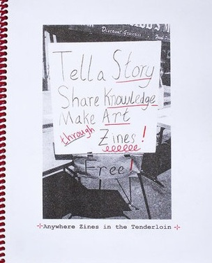 Anywhere Zines in the Tenderloin