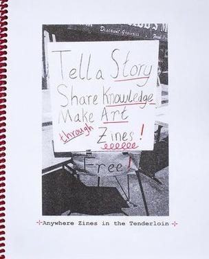 Anywhere Zines in the Tenderloin