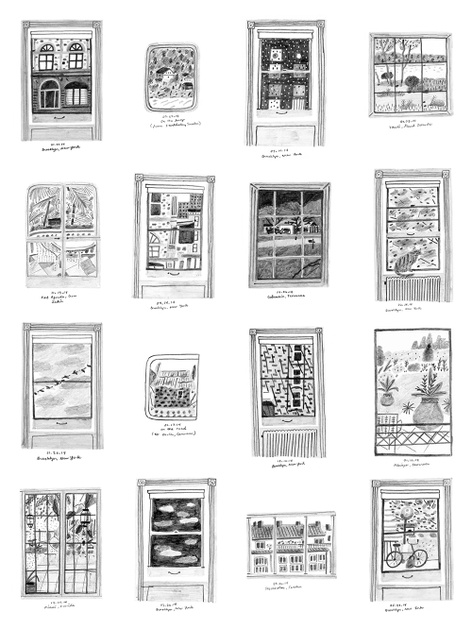Rachel Domm - Window Diary - Published by Nieves