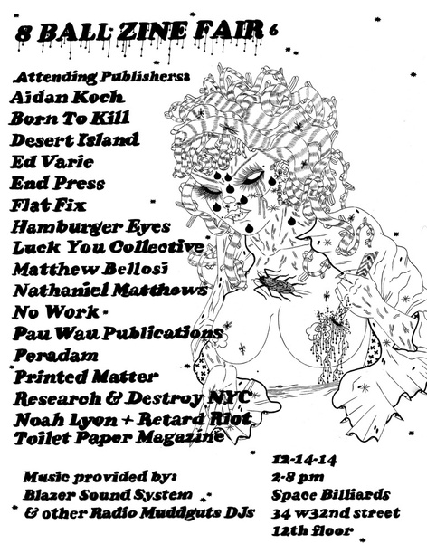 8 Ball Zine Fair