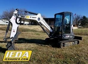 Used 2017 Bobcat E35 For Sale