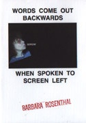 Words Come Out Backwards When Spoken To Screen Left