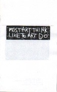 Must Art Think