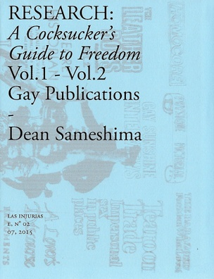 RESEARCH: A Cocksucker's Guide to Freedom Vol. 1 – Vol. 2 Gay Publications