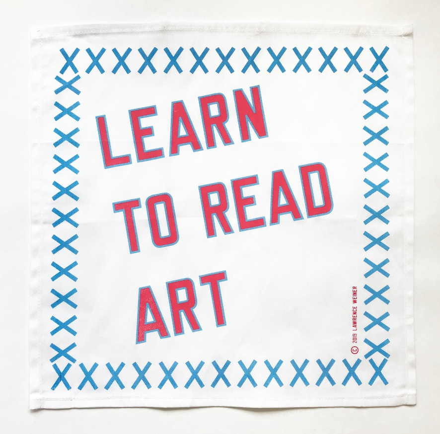 LEARN TO READ ART, 2019