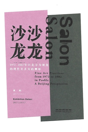 Salon, Salon : Fine Art Practices from 1972 to 1982 in Profile : A Beijing Perspective