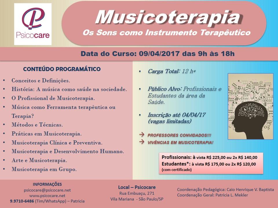 MUSICOTERAPIA: OS SONS COMO INSTRUMENTOS TERAPÊUTICOS