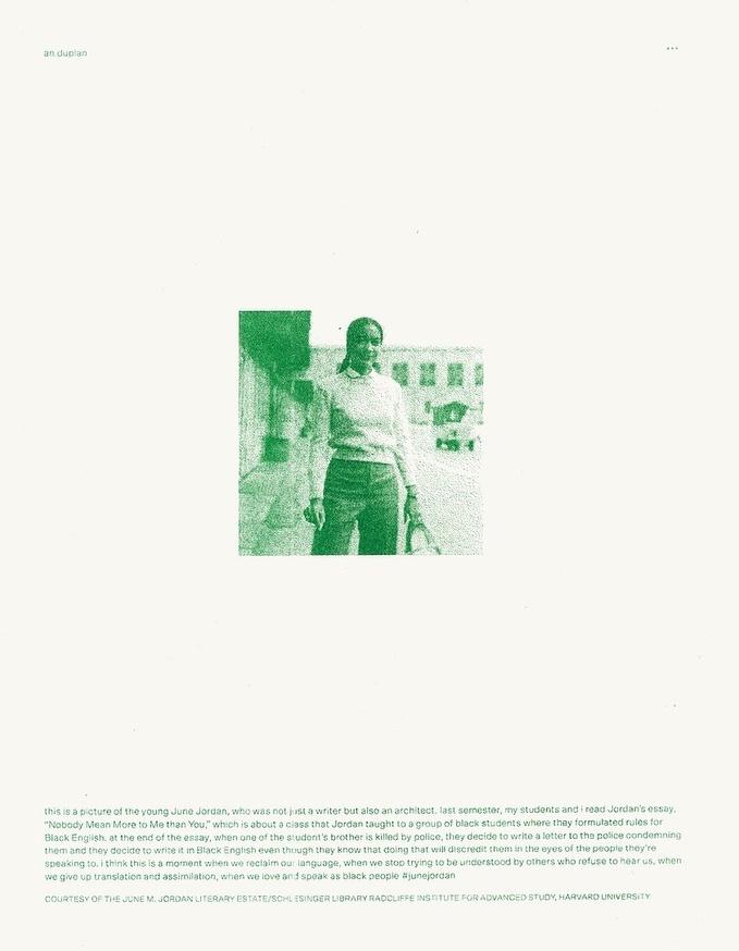 Prints of Protest: Boxed Set (Prints by Anaïs Duplan, Kameelah Janan Rasheed, Julian Louis Phillips, Tony Cokes, Neema Githere, and Erica Génécé) thumbnail 4