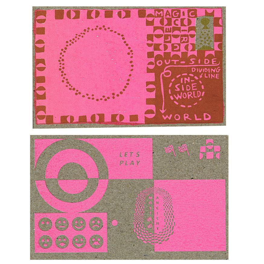 Lets Play Postcard Set thumbnail 4