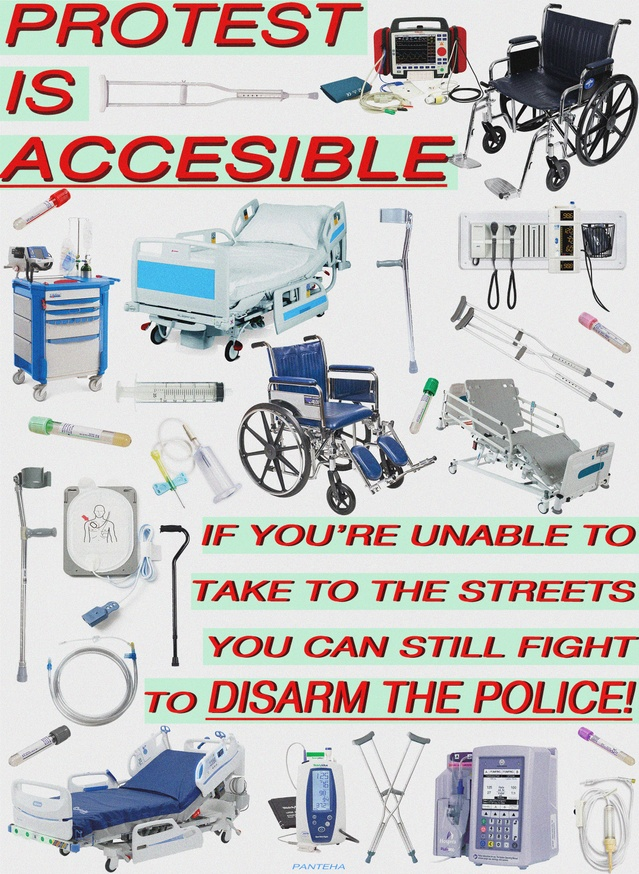 PROTEST IS ACCESSIBLE
