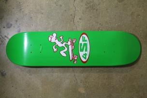 Gary Panter Skateboard: Green/Black