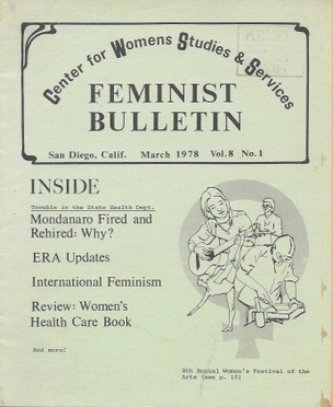 San Diego Feminist Publications [Set of 5]