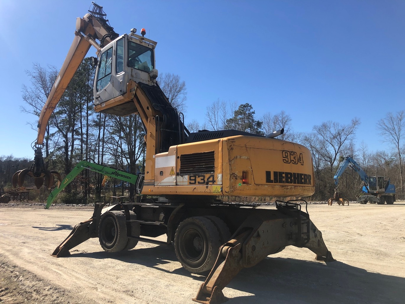 Used 2007 Liebherr A934C MH For Sale