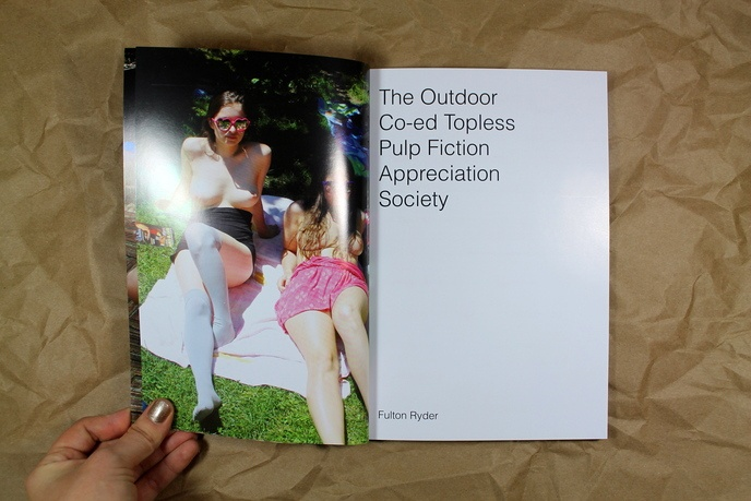 The Outdoor Co-ed Topless Pulp Fiction Appreciation Society thumbnail 2