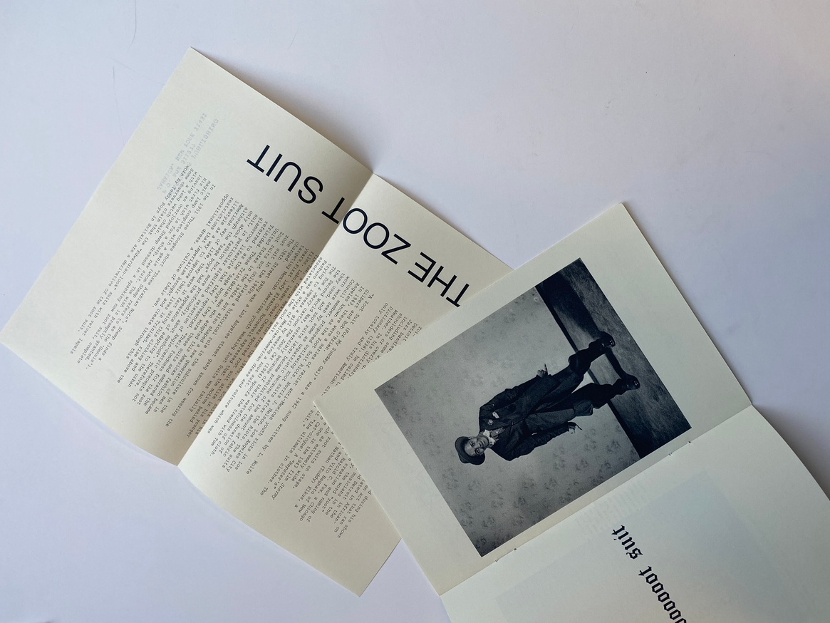 the Zoot suit & two selected poems thumbnail 2