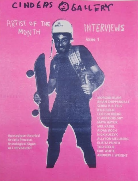Cinders Artist of the Month Fanzine