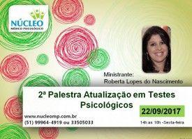 Palestra Atualização em Testes Psicológicos