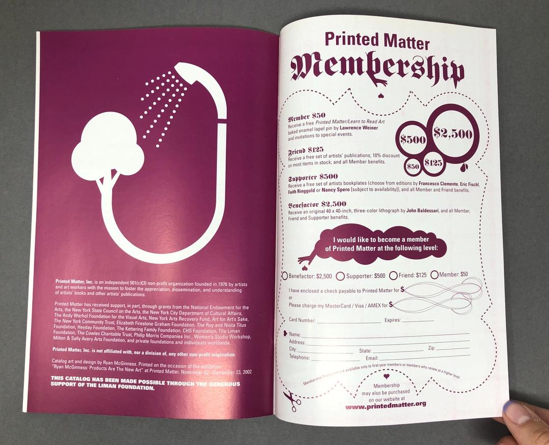 Printed Matter, Inc. Winter 2003 Catalog thumbnail 8