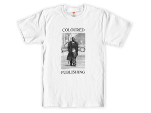 "Coloured Publishing Icon ""OMAR"" T-shirt [Large]"
