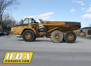 Used 2004 Caterpillar 740 For Sale