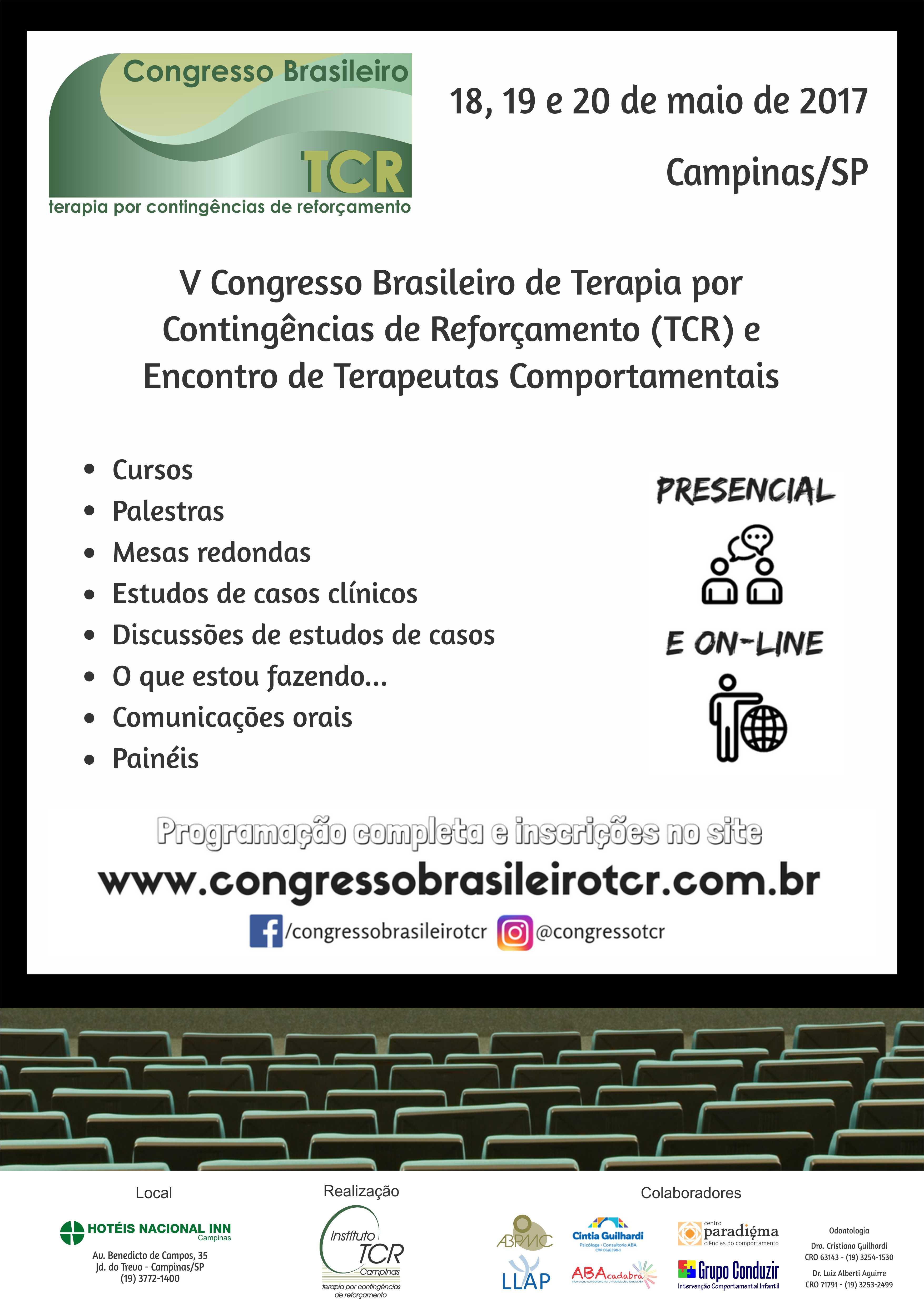 V Congresso Brasileiro de TCR