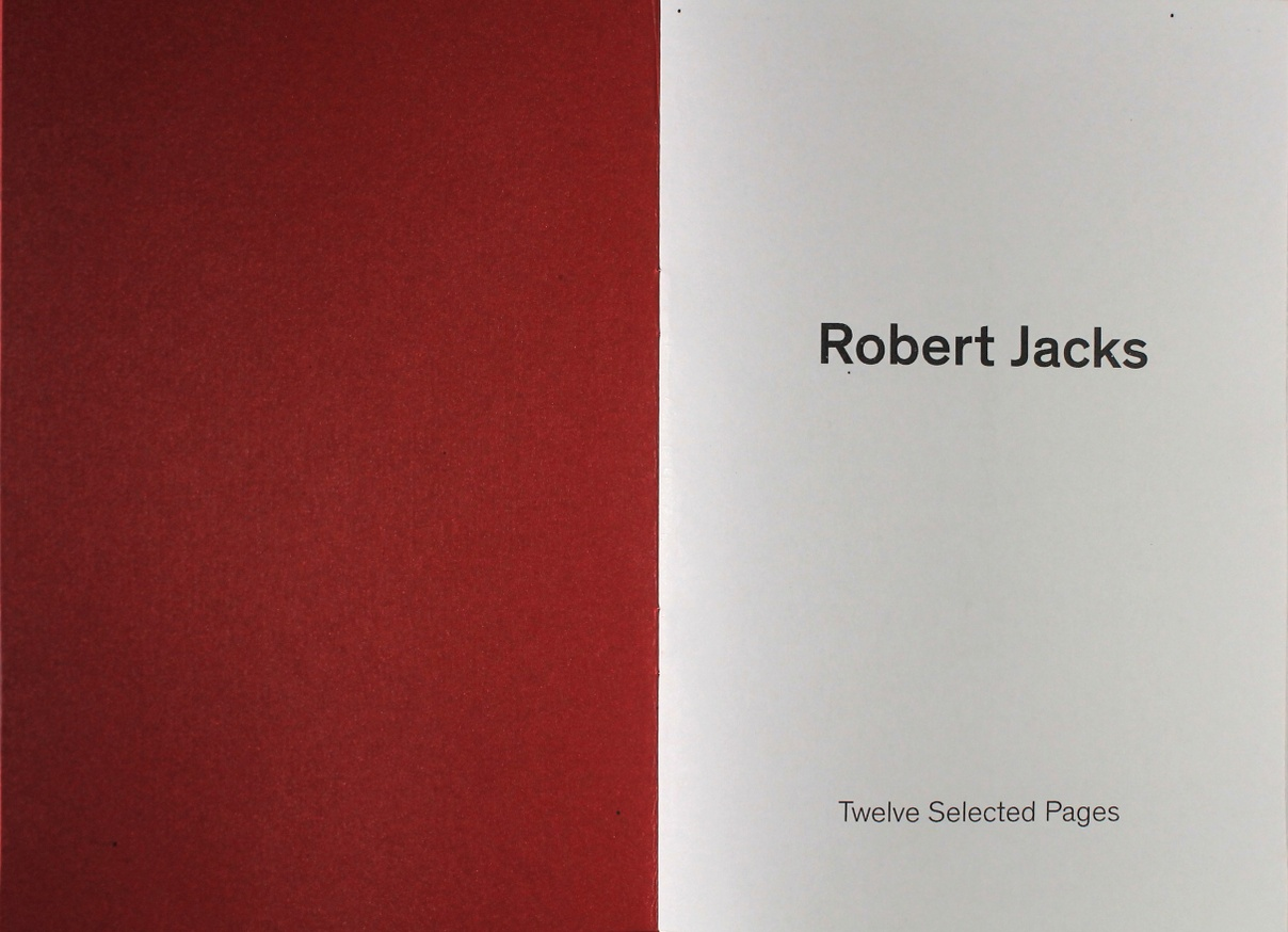Robert Jacks: Twelve Selected Pages thumbnail 2