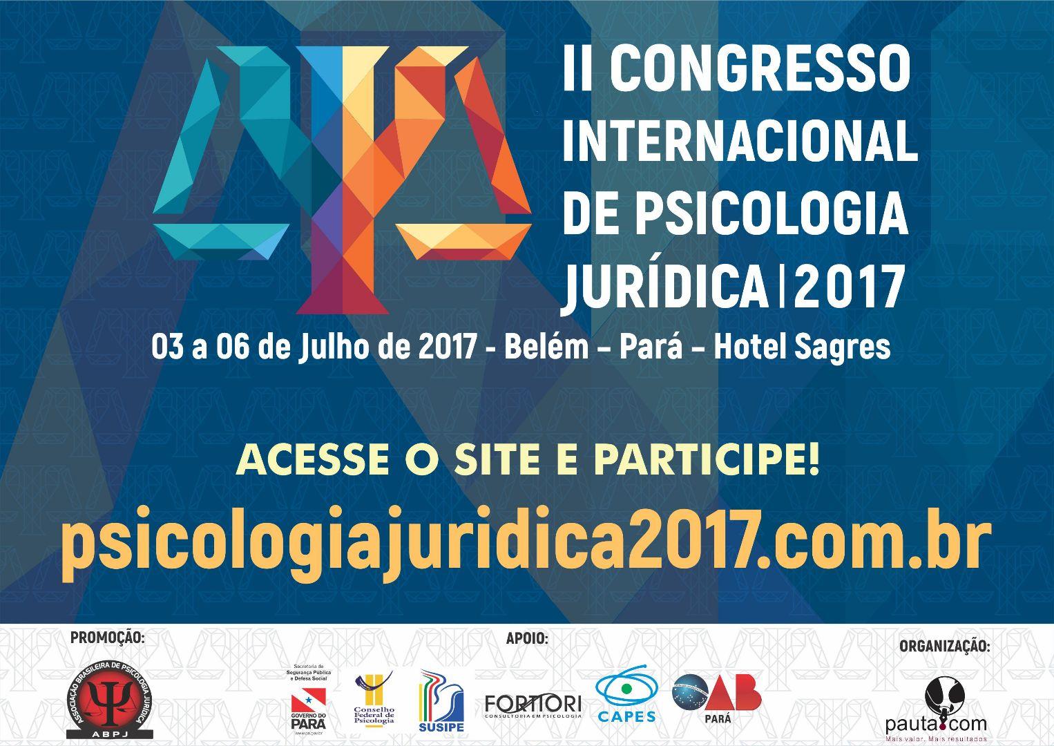 II CONGRESSO INTERNACIONAL DE PSICOLOGIA JURIDICA