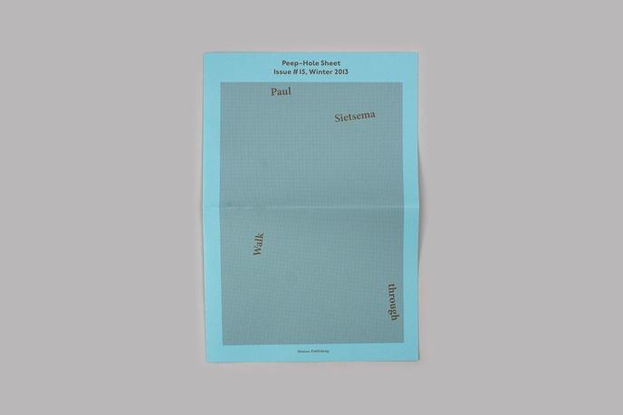 Peep-Hole Sheet thumbnail 3