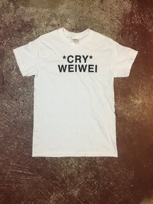 Cry Weiwei T-Shirt [Large]