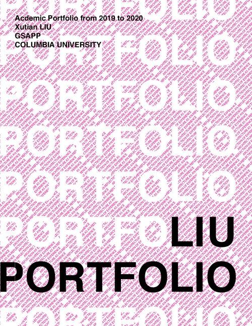 AAD LiuXutian SP20 Portfolio.pdf_P1_cover.jpg